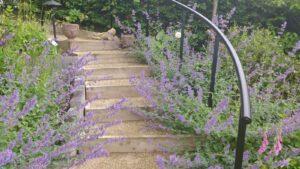 Elevated garden- Bettley, Staffordshire