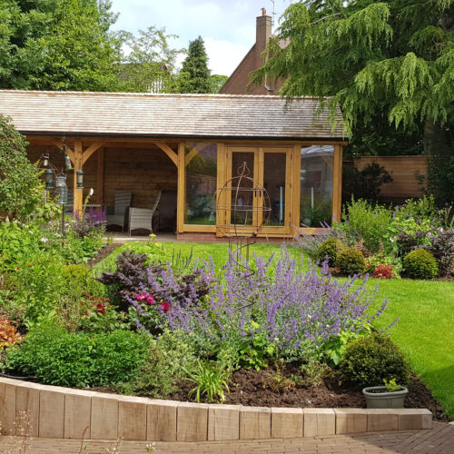 The Garden room project – Newcastle under Lyme
